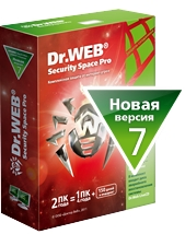 Dr.Web Security Space 1ПК, 1 год